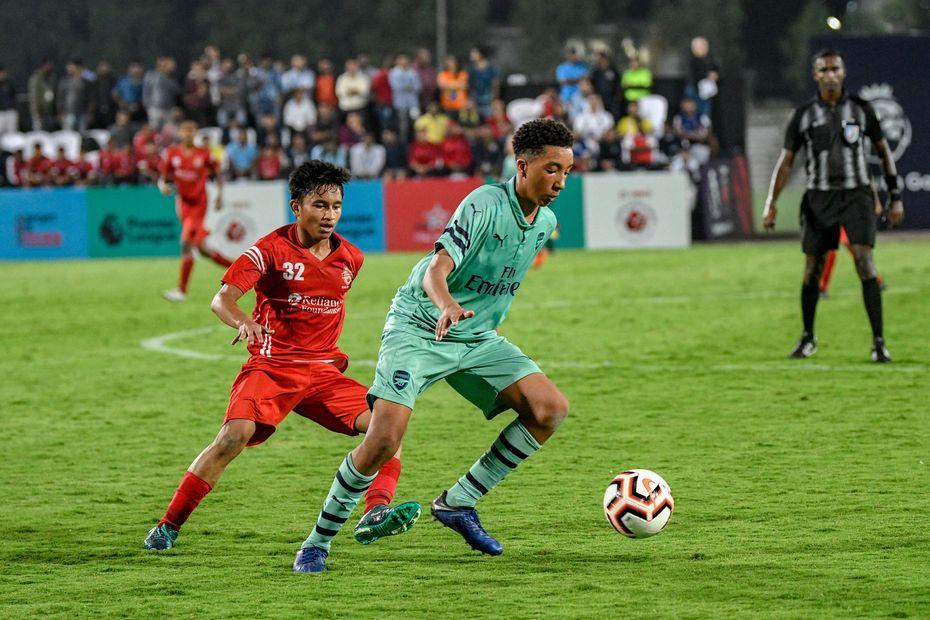 Cup Football Match
