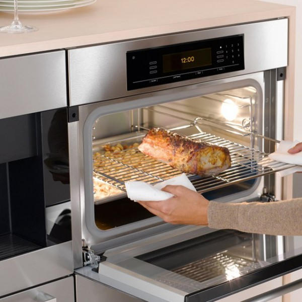 Combi Steam Oven Cooking